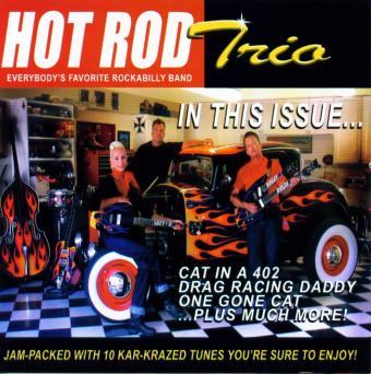 CD cover: The Hot Rod Trio - In This Issue...